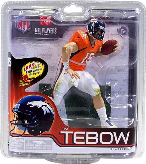 McFarlane Toys NFL Denver Broncos Sports Picks Series 30 Tim Tebow Action Figure [Orange Jersey]