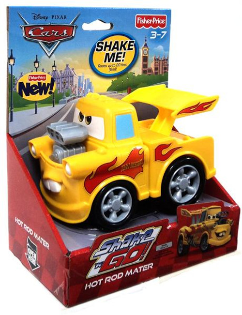 Disney Cars Cars 2 Shake 'N Go Hot Rod Mater Shake 'N Go Car