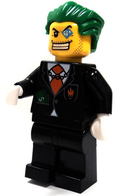 LEGO Agents Loose Agent Dollar Bill Minifigure [Loose]