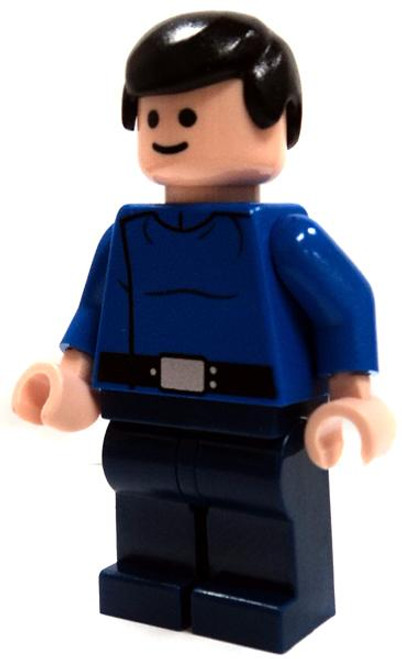 LEGO Star Wars Loose Republic Captain Minifigure [With Hair Loose]