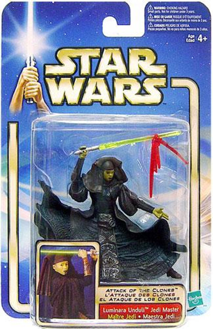 Star Wars Attack of the Clones Basic 2002 Collection 2 Luminara Unduli Action Figure [Jedi Master]
