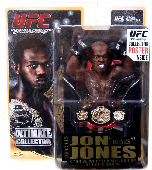 UFC Ultimate Collector Series 11 Jon Jones Action Figure [Championship Edition]