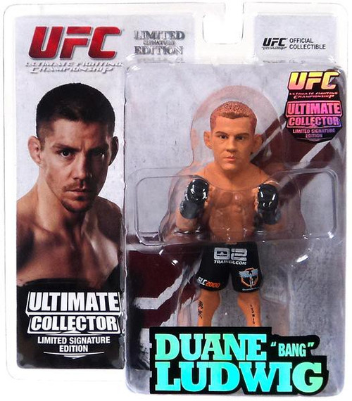 UFC Ultimate Collector Series 11 Duane Ludwig Action Figure [Limited Signature Edition]