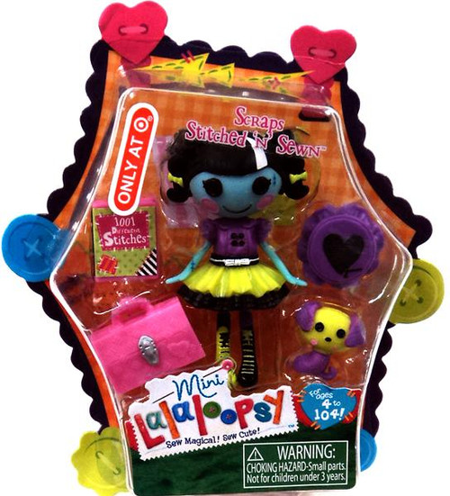 Lalaloopsy Scraps Stitched 'n' Sewn Exclusive 3-Inch Mini Figure