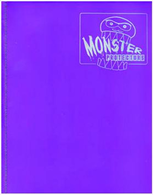 Card Supplies Purple 4-Pocket Binder