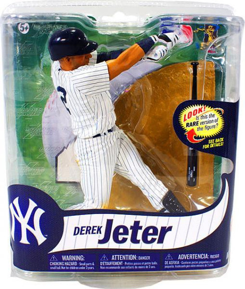 McFarlane Toys MLB New York Yankees Sports Picks Series 31 Derek Jeter Action Figure [Pinstripes Jersey]