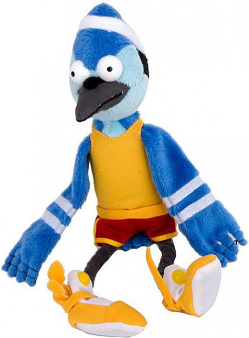 Cartoon Network Regular Show Mordecai 7-Inch Plush [Basketball Uniform]