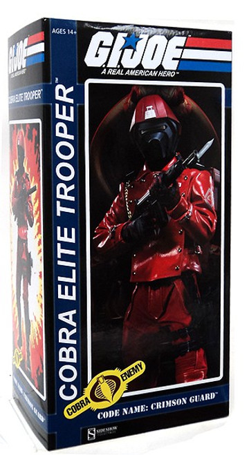 GI Joe Cobra Enemy Cobra Elite Trooper 1/6 Collectible Figure