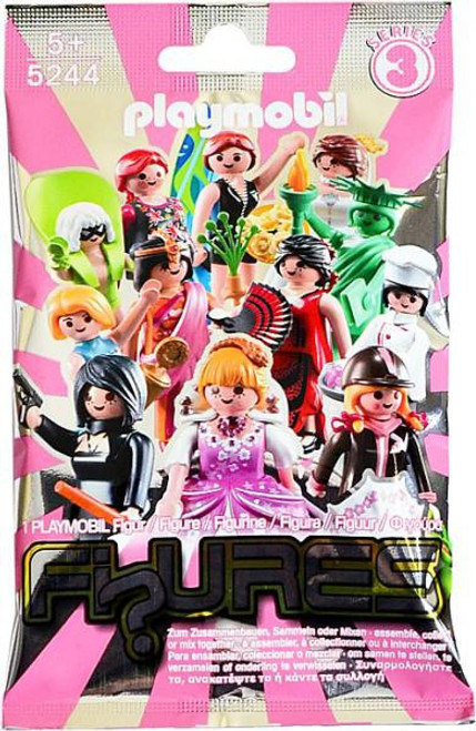 Playmobil Fi?ures Series 3 Pink & Silver Figures Series 3 Pink Mystery Pack