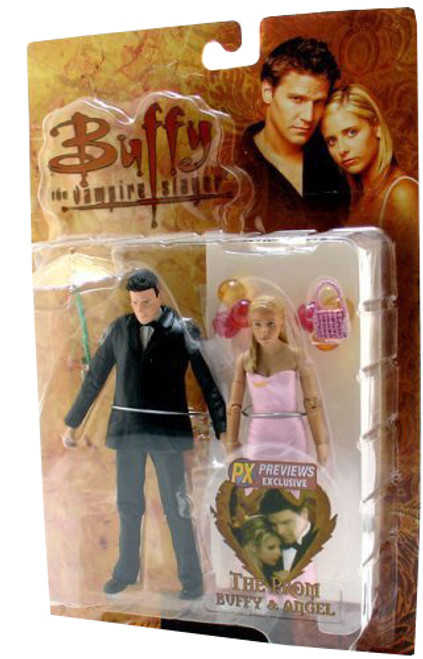 Buffy The Vampire Slayer The Prom Buffy & Angel Exclusive Action Figure 2-Pack
