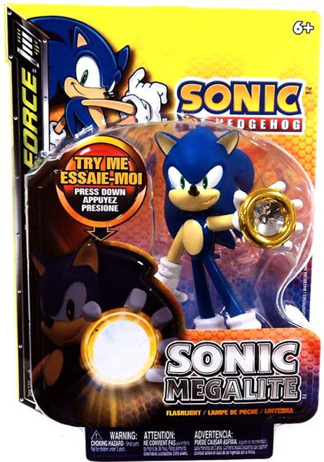 Sonic The Hedgehog Lite Force Sonic Megalite Flashlight