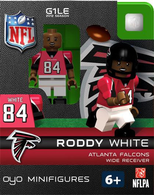 Atlanta Falcons NFL Generation 1 2012 Season Roddy White Minifigure