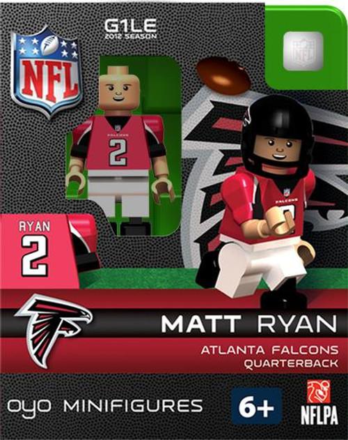 Atlanta Falcons NFL Generation 1 2012 Season Matt Ryan Minifigure