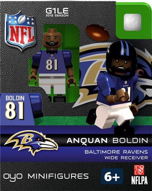 Baltimore Ravens NFL Generation 1 2012 Season Anquan Boldin Minifigure