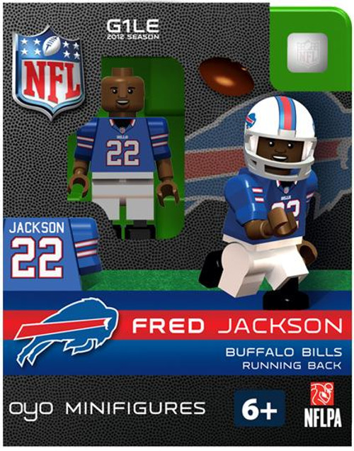 Buffalo Bills NFL Generation 1 2012 Season Fred Jackson Minifigure