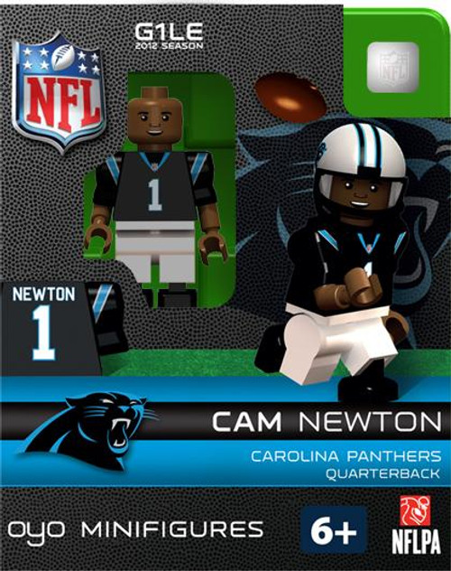 Carolina Panthers NFL Generation 1 2012 Season Cam Newton Minifigure