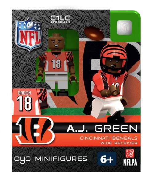 Cincinnati Bengals NFL Generation 1 2012 Season A.J. Green Minifigure