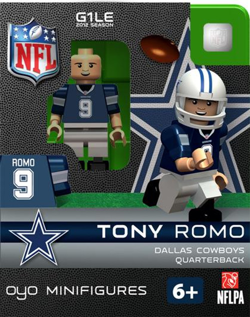 Dallas Cowboys NFL Generation 1 2012 Season Tony Romo Minifigure