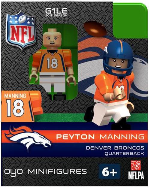Denver Broncos NFL Generation 1 2012 Season Peyton Manning Minifigure