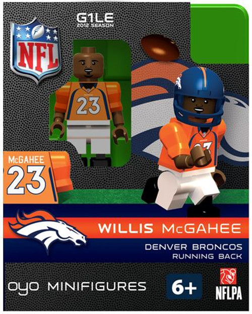 Denver Broncos NFL Generation 1 2012 Season Willis McGahee Minifigure