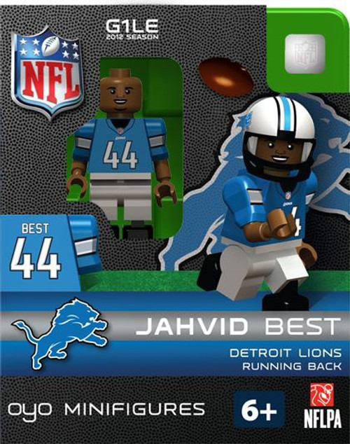 Detroit Lions NFL Generation 1 2012 Season Jahvid Best Minifigure