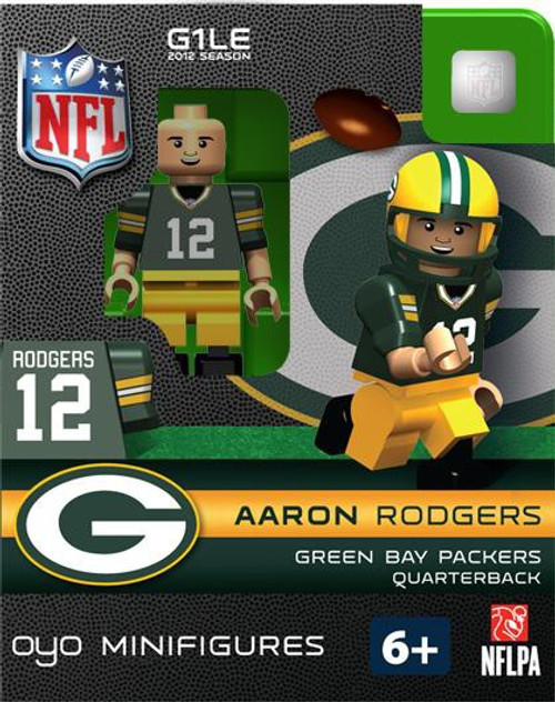 Green Bay Packers NFL Generation 1 2012 Season Aaron Rodgers Minifigure
