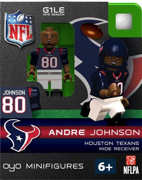 Houston Texans NFL Generation 1 2012 Season Andre Johnson Minifigure