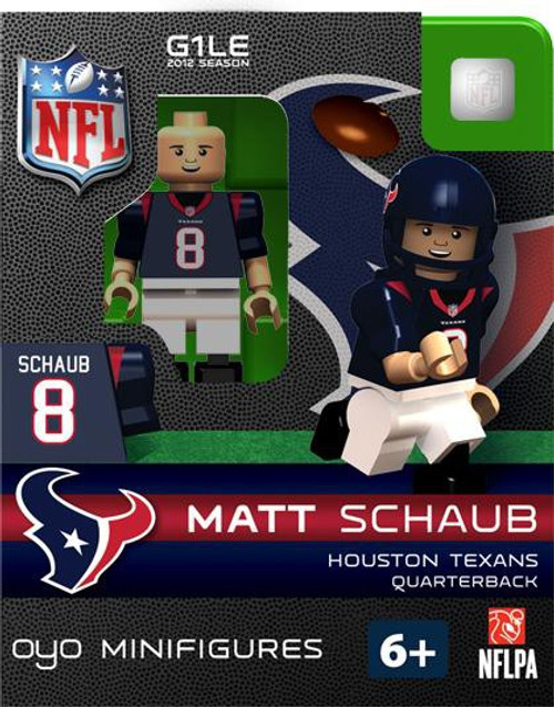 Houston Texans NFL Generation 1 2012 Season Matt Schaub Minifigure