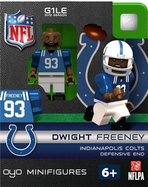 Indianapolis Colts NFL Generation 1 2012 Season Dwight Freeney Minifigure