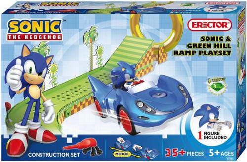 Sonic The Hedgehog Sonic & Green Hill Ramp Construction Set #5610