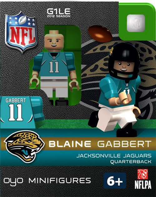 Jacksonville Jaguars NFL Generation 1 2012 Season Blaine Gabbert Minifigure