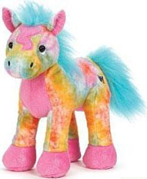 Webkinz Tie Dyed Pony Plush