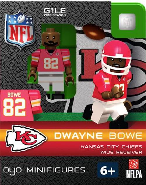 Kansas City Chiefs NFL Generation 1 2012 Season Dwayne Bowe Minifigure