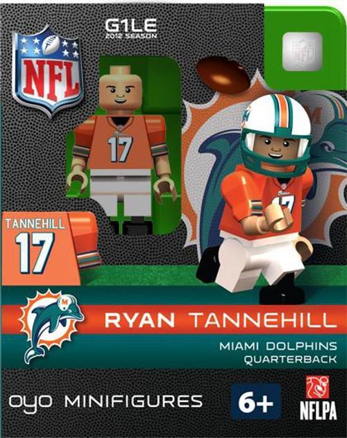Miami Dolphins NFL Generation 1 2012 Season Ryan Tannehill Minifigure