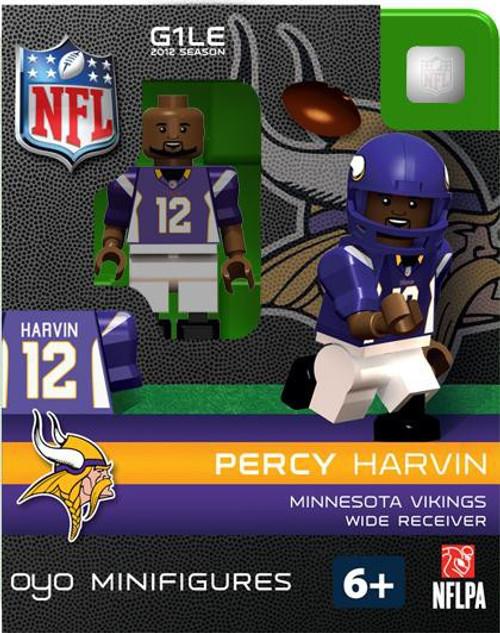 Minnesota Vikings NFL Generation 1 2012 Season Percy Harvin Minifigure