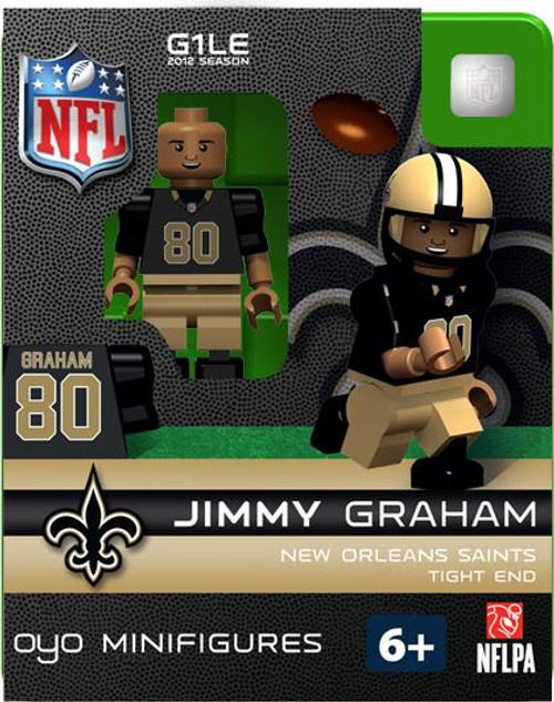 New Orleans Saints NFL Generation 1 2012 Season Jimmy Graham Minifigure