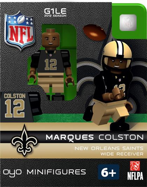 New Orleans Saints NFL Generation 1 2012 Season Marques Colston Minifigure