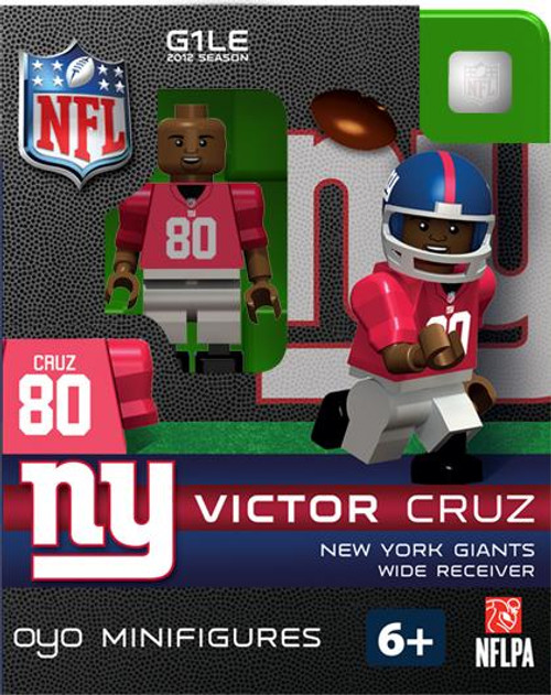 New York Giants NFL Generation 1 2012 Season Victor Cruz Minifigure