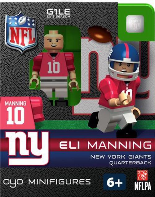 New York Giants NFL Generation 1 2012 Season Eli Manning Minifigure