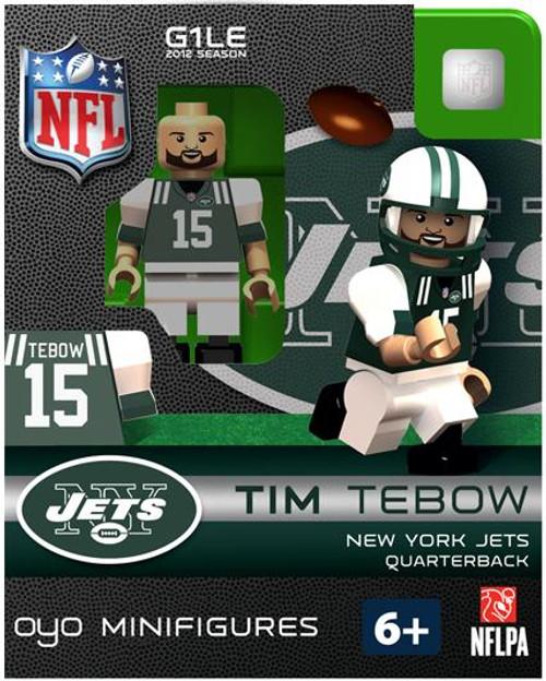 New York Jets NFL Generation 1 2012 Season Tim Tebow Minifigure