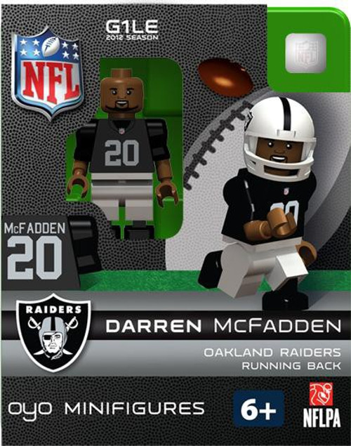 Oakland Raiders NFL Generation 1 2012 Season Darren McFadden Minifigure