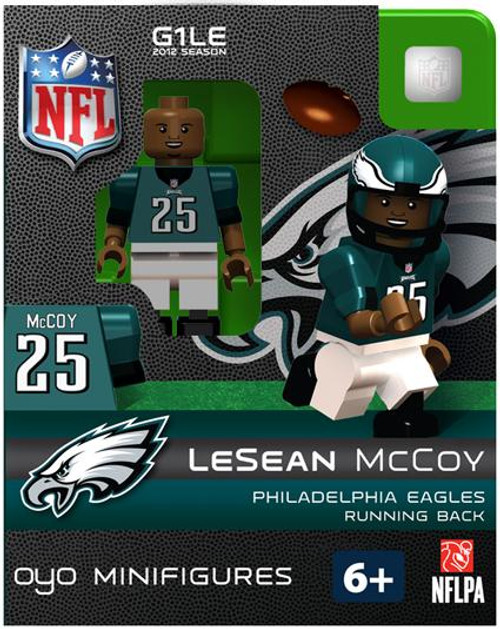 Philadelphia Eagles NFL Generation 1 2012 Season LeSean McCoy Minifigure