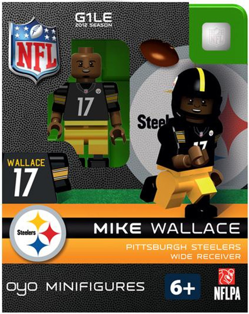 Pittsburgh Steelers NFL Generation 1 2012 Season Mike Wallace Minifigure