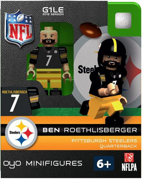 Pittsburgh Steelers NFL Generation 1 2012 Season Ben Roethlisberger Minifigure
