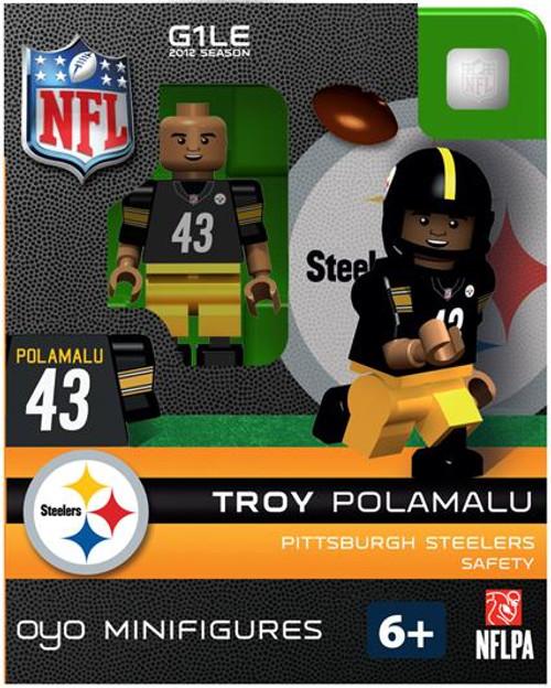 Pittsburgh Steelers NFL Generation 1 2012 Season Troy Polamalu Minifigure