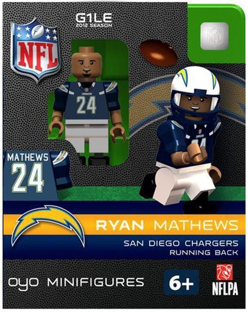 San Diego Chargers NFL Generation 1 2012 Season Ryan Mathews Minifigure