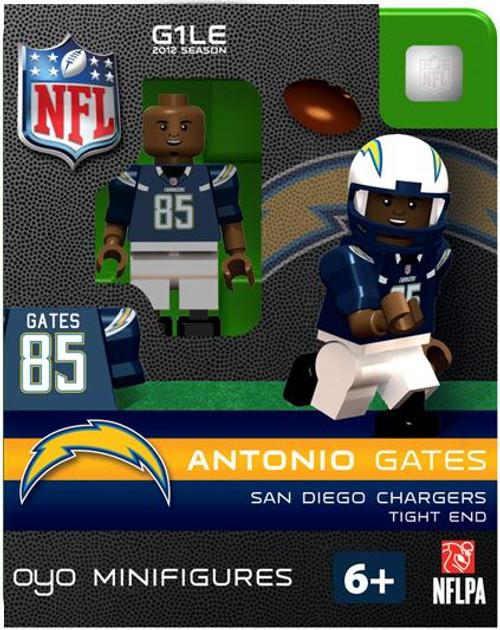 San Diego Chargers NFL Generation 1 2012 Season Antonio Gates Minifigure