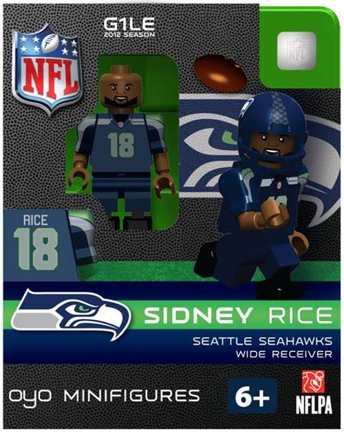 Seattle Seahawks NFL Generation 1 2012 Season Sidney Rice Minifigure