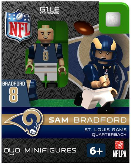 St. Louis Rams NFL Generation 1 2012 Season Sam Bradford Minifigure