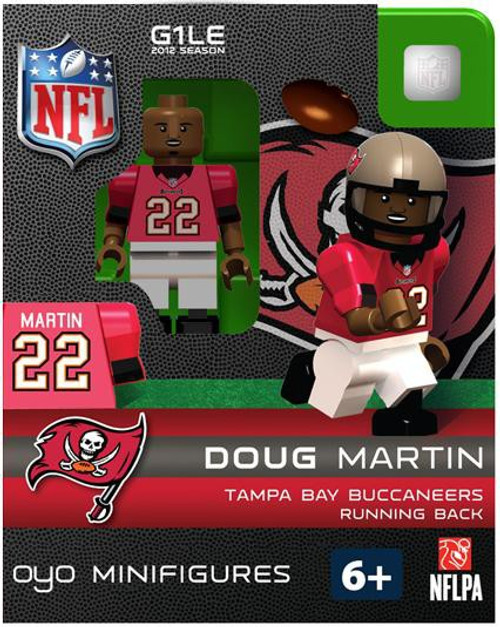 Tampa Bay Buccaneers NFL Generation 1 2012 Season Doug Martin Minifigure
